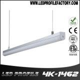 Bande LED Extrusion, Canal de lumière à LED, profil en aluminium pour l'éclairage LED