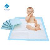 De in het groot OEM Beschikbare Hoge Mat van het Bed van de Baby van de Stootkussens van de Zorg van de Baby van het Absorptievermogen in Massa