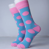 Новая конструкция счастливых цветастых носок причудливый платья людей носок
