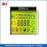 Einfarbiges Bildschirm-Bildschirmanzeige-Segment LCD-Panel LCD Tn-LCD