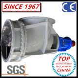 Horizontale u. vertikale chemische Krümmer-Propeller-Pumpe der Strömung-SS304