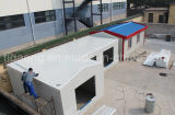 A instalação fácil Prebuilt provisório telescópico/pré-fabricou a casa/escritório/quarto