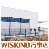 Rifornimento progettato piacevole del magazzino della costruzione della tettoia della struttura d'acciaio