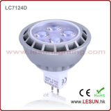 Ce ASA 3*1W SMD/COB GU10 MR16 E27 réglable LED spotlight ampoule lampe