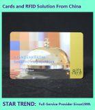 Salão de Cabeleireiro Card com tarjas magnéticas de plástico feitas