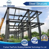 주문을 받아서 만들어진 디자인 Prefabricated 가벼운 강철 구조물 건축 강철 구조물 창고