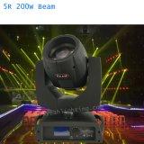 5r Sharpy cabezal movible de 200W haz de rayo de luz 200