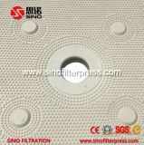 Prensa de filtro hidráulica automática de membrana para el tratamiento de aguas residuales