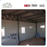 Casa casera prefabricada del chalet del marco de acero de la alta calidad para la venta