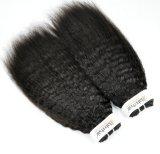 Индия Kinky Прямые заготовки Virgin волос для розничной торговли (Категория 9A)