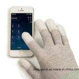 ESD het Nylon van de Koolstof breit de Palm van het Polyurethaan van de Handschoenen van de Inspectie/van de Assemblage