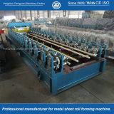 A velocidade de formação de 20m/min formando os fabricantes dos rolos ajustáveis