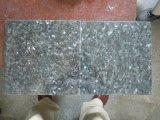 Dessus bleu de vanité de partie supérieure du comptoir de tuiles de brames de granit de perle