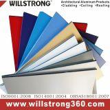 Zusammengesetztes Aluminiumpanel-spezielle Farbe für Wand-Fassade-Umhüllung