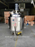Jacketed Stainless Steel Industrial Cooking Tank with Agitator