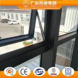 Mur rideau profilé en aluminium avec verre teinté