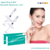 Enchimento secreto do gel de Derma do enchimento do Ha do Aqua