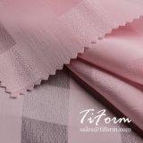 Polyester-Plaid-Chiffon- Gewebe 100% für Sommer-Kleid