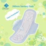 Uiterst dunne Dame Sanitary Pad 260mm voor het Gebruik van de Dag
