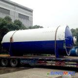 autoclave de goma horizontal de Vulcanizating de la calefacción de vapor de 2800X4500m m (SN-LHGR2845)