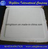 Placa de enterramento cerâmica refratária de grande resistência