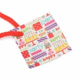 Oferta de Aniversário Wholesales logotipo impresso personalizado de embalagem de sacos de papel