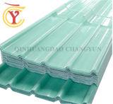 루핑을%s 1.0mm 투명한 반투명 섬유 유리 물결 모양 FRP 위원회