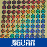 de 2d Zilveren Bladen van de Stickers van het Hologram van het Ontwerp van de Douane van de Kleur