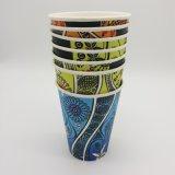 Papel de parede dupla Gofragem biodegradáveis Cup
