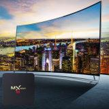 Mx小型TVボックスアンドロイド7.1のAmlogic S905Wのクォードのコア64bit 2GB RAM 16GB ROM 2.4GHz WiFiサポート4K HD