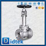 Válvula de globo de levantamiento del acero inoxidable del vástago de la calidad confiable de Didtek