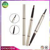 Les couleurs neuves de l'aperçu gratuit 5 de modèle imperméabilisent le crayon de sourcil de renivellement avec des balais