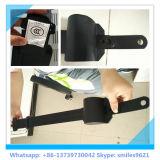Punto negro de 3 cinturón de seguridad para el conductor