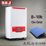 L'invertitore a tre fasi di PV di Su-griglia di SAJ 10KW con 2MPPT e l'interruttore di CC, IP65 per Griglia-legano il sistema di PV