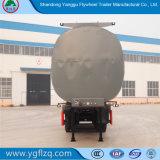 3 de Semi Aanhangwagen van de Tank van de Eetbare Olie van assen met Thermische Geïsoleerden Laag