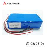 18650 batteria ricaricabile dello ione del pacchetto 25.6V 5.2ah Li
