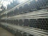 Material de construcción galvanizado sumergido caliente del tubo de acero