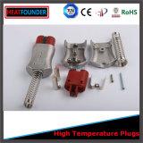 Industrieller elektrischer Hochtemperaturstecker und Kontaktbuchse