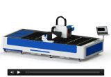 ファイバーレーザーの打抜き機の販売の2017新製品のファイバーのマーキング機械1530 500WファイバーレーザーCNCのルーター