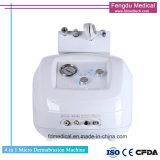 Diamond Microdermabrasion portátil máquina para remoção dos vincos de limpeza de pele profunda
