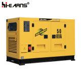 Water-Cooled тепловозный тип комплекта генератора молчком (GF2-50kVA)
