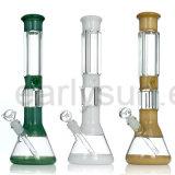 Tubo di vetro del narghilé di tolleranza del fondo della coppa di mancanza per il fumo (ES-GB-239)