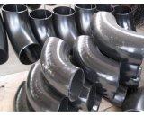 Montaje del tubo de acero al carbono ensamblada 90 grados de codo de lr