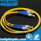 Cordons de connexion de fibre optique de FC
