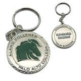 取り外し可能な磁気葉のロゴのトークン硬貨のエナメルの金属Keychain