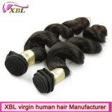 一等級の加工されていないバージンのブラジルの毛の緩い波の束