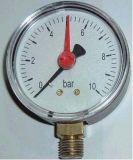 Manómetro de presión anti-choque