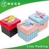 Дешевой коробка напечатанная таможней косметическая бумажная для упаковывать подарка