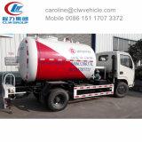 5 ton 10cbm caminhão de reabastecimento do tanque de GPL para mistura o gás de cozinha