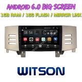 """Witson 9 """"トヨタ古いReizのための大きいスクリーンのアンドロイド6.0車DVD"""